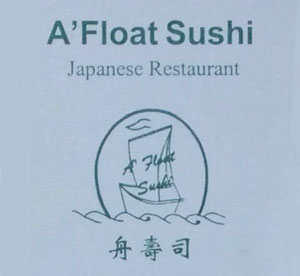 A'Float Sushi logo