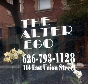 The Alter Ego Salon logo
