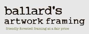 Ballard's Artwork Framing logo