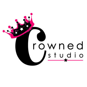 Crowned Studio Salon logo