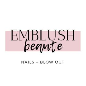 Logo for Emblush Beaute in Old Pasadena