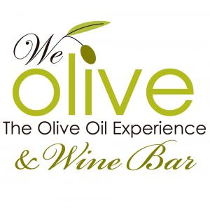 We Olive & Wine Bar logo