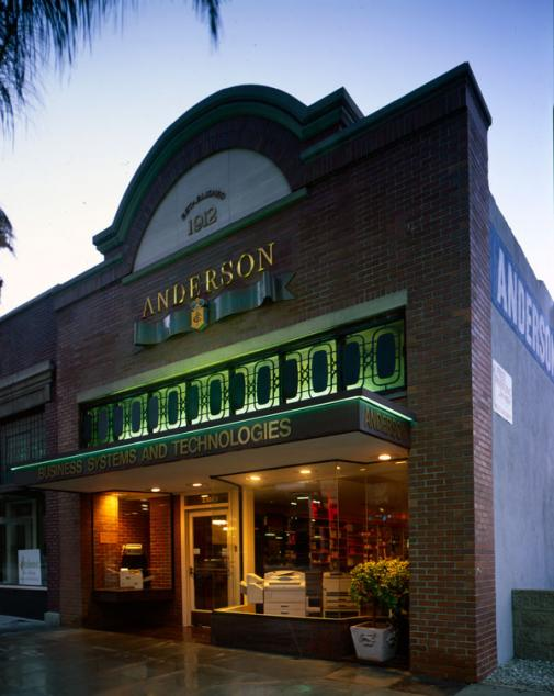 Anderson Business exterior