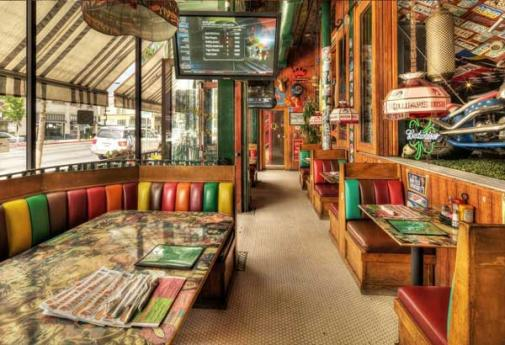 Barneys Beanery Pasadena interior