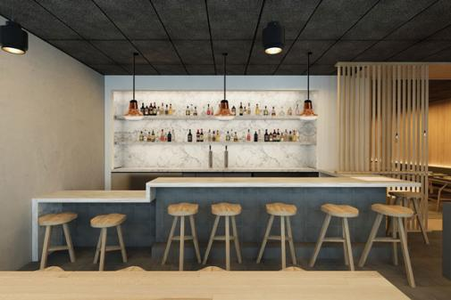 Bone Kettle interior bar