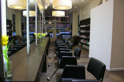 Chignon Hair Salon interior