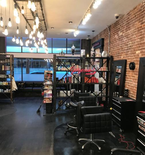 Crowned Studio Salon interior