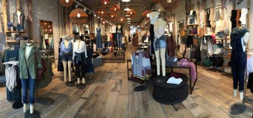 Free People interior