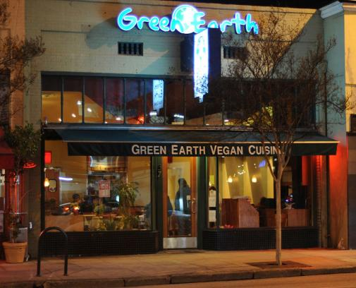 Green Earth Vegan exterior