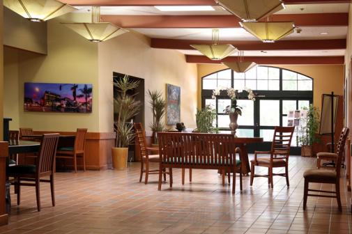 Pasadena Senior Center interior