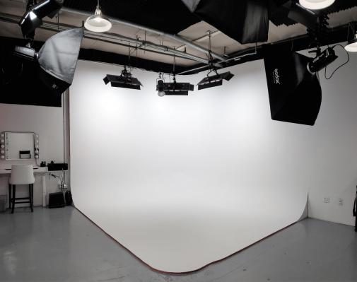 State-of-the-art photo studio inside Redirect Marketing Group