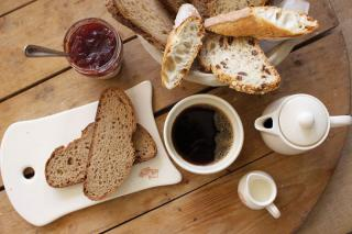 Le Pain Quotidien breakfast