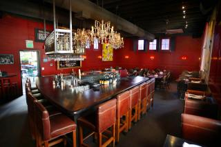 Luggage Room Pizzeria interior
