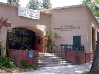 Pasadena Senior Center exterior