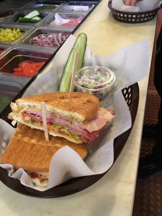 Union Street Sandwich counter