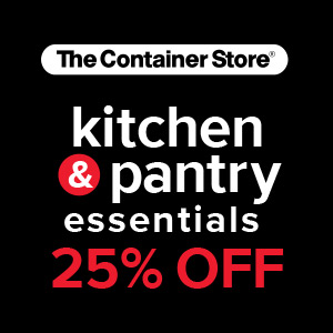 The Container Store Kitchen & Pantry Sale, Wednesday, February 27, 2019