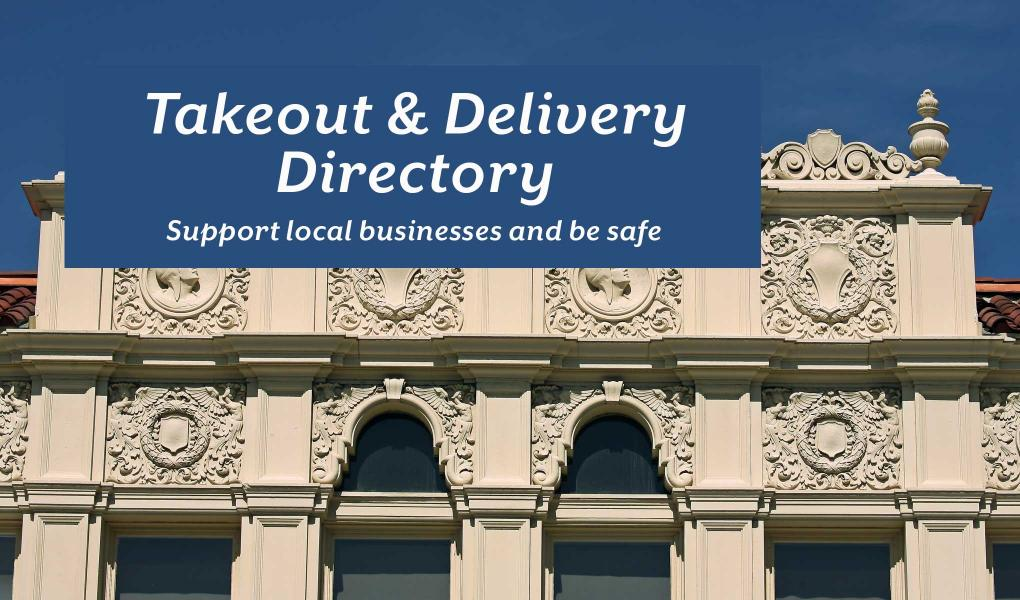 Takeout & Delivery Directory