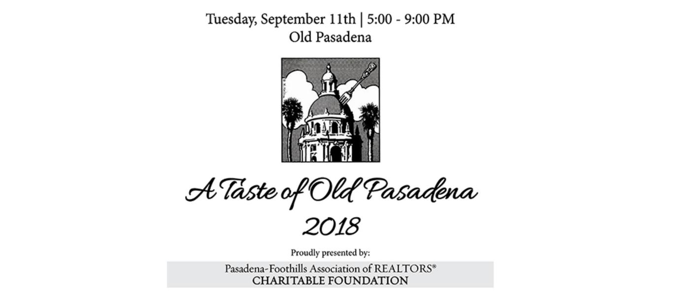 A Taste of Old Pasadena