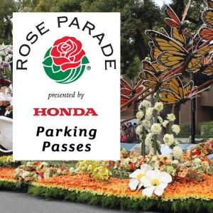 Rose Parade Parking Passes, Friday, December 1, 2017
