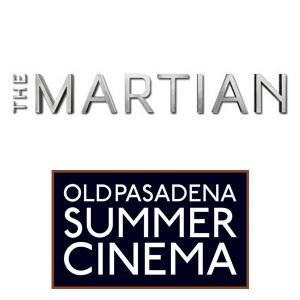 Summer Cinema - The Martian, Friday, July 14, 2017 8:30 pm