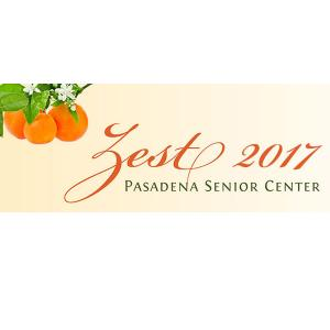 Pasadena Senior Center: Zest for Life Gala, Saturday, October 28, 2017 5:00 pm