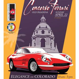 Concorso Ferrari - CANCELLED, Sunday, April 14, 2019 10:00 am