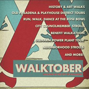 Walktober, Tuesday, October 1, 2019
