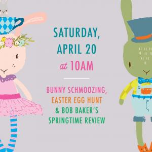 Easter Egg Hunt & Bob Baker Springtime Review, Saturday, April 20, 2019 10:30 am