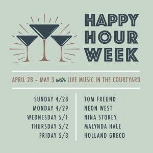 One Colorado Happy Hour Week, Sunday, April 28, 2019