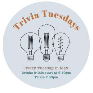 Trivia Tuesdays at One Colorado, Tuesday, May 7, 2019