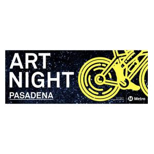 BEST Ride: Bike Art Night Pasadena, Friday, March 9, 2018