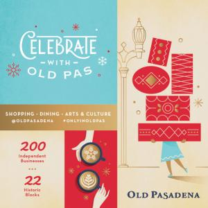 Old Pasadena Holidays, Sunday, December 1, 2019