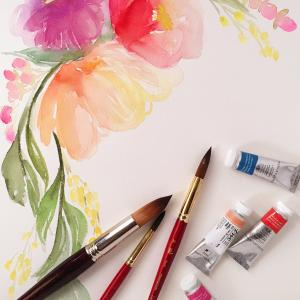 Water Color Workshop at Vanilla Bake Shop, Sunday, February 11, 2018 12:00 pm