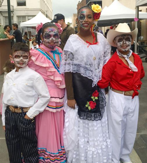 2016 Day of the Dead - folkloric dancers