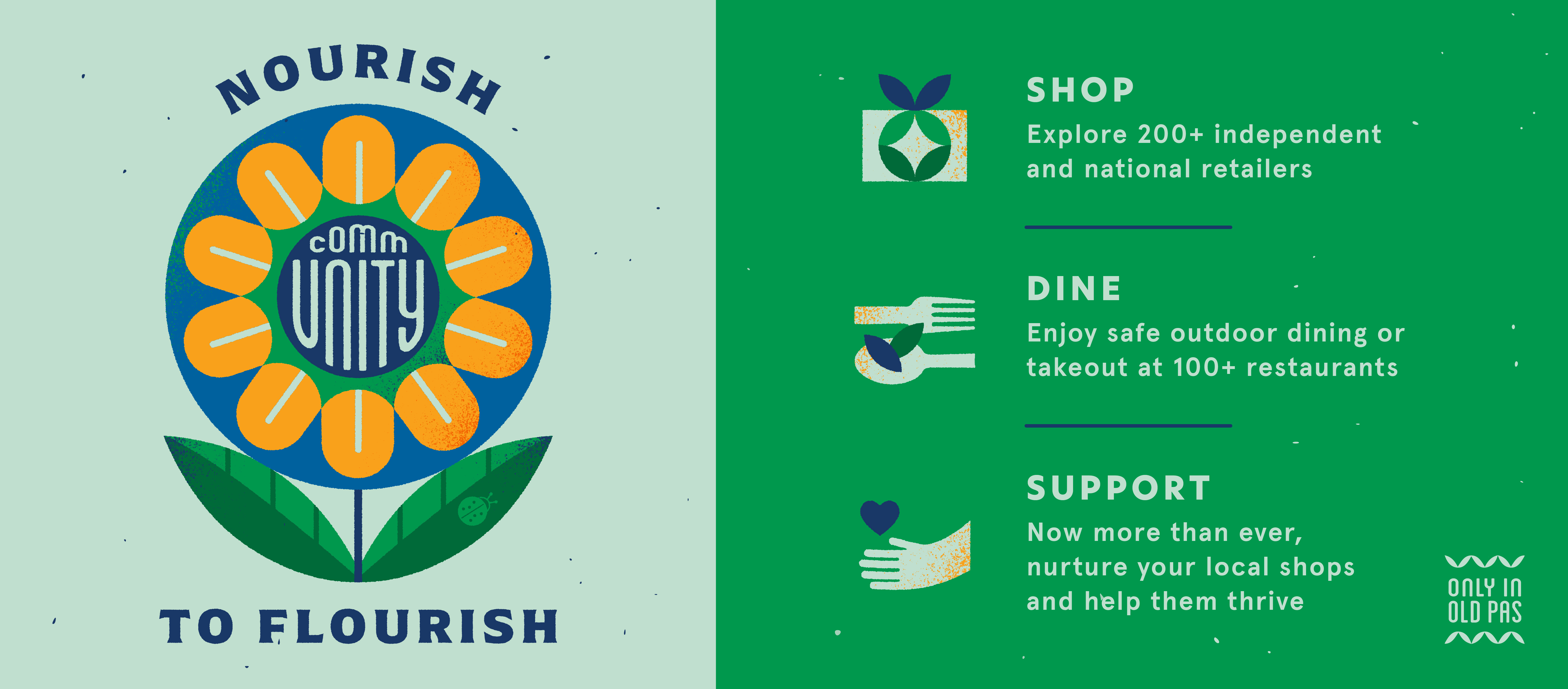 Support our local community - Nourish to Flourish